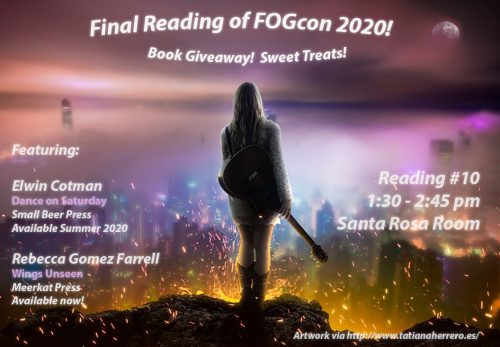 fogcon 2020, reading, rebecca gomez farrell, elwin cotman