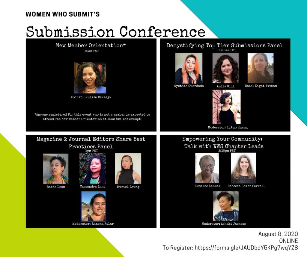 women who submit, women who submit lit, submission process, submission conference conference, literary, writers