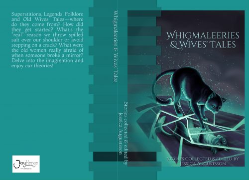 whigmaleeries, wives' tales, old wives tale, anthology, jayhenge press, jayhenge publishing, jayhenge books, rebecca gomez farrell, hobgoblin, fairy tale collection