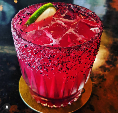 pink drink, hibiscus margarita