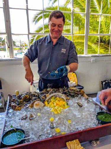 oysters, hog island, the gourmez, nz wine