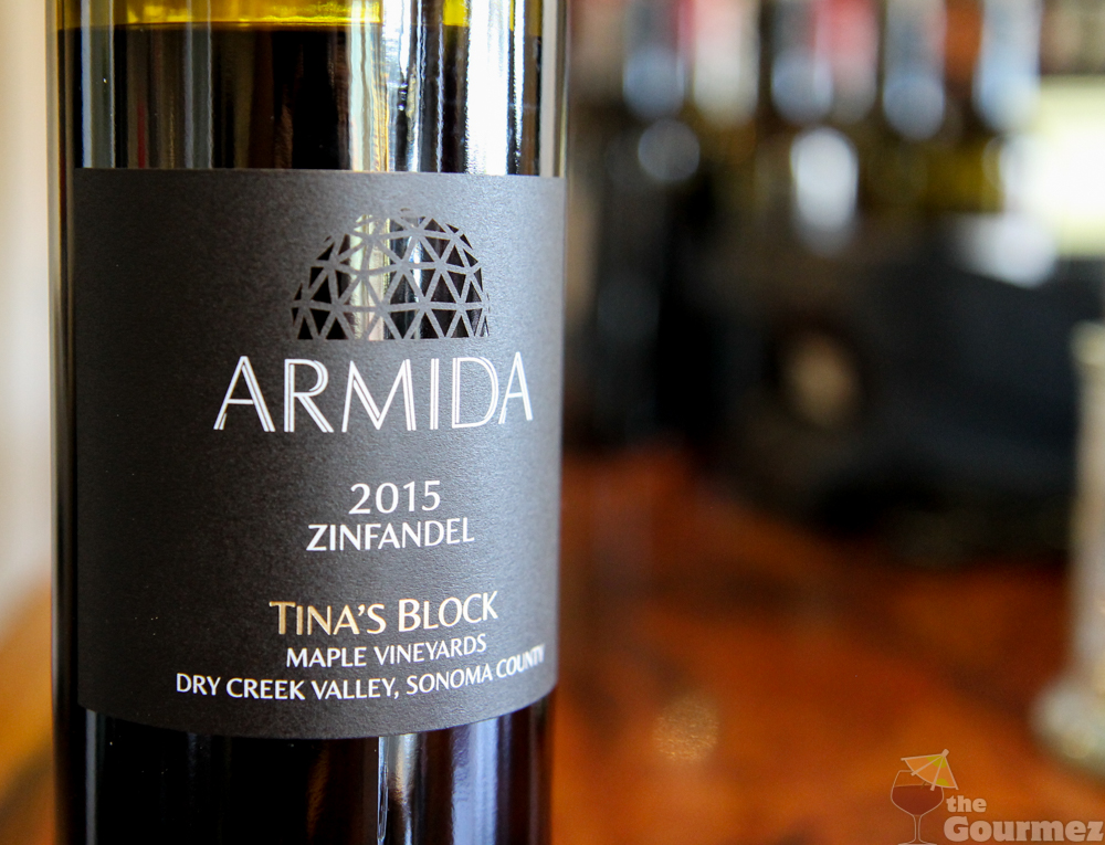 armida, armida winery, wine road, sonoma county, zinfandel, tina's block, winter wineland