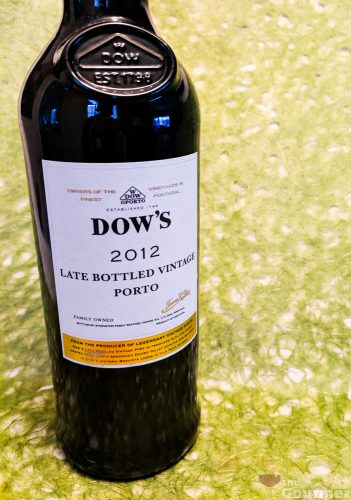 dow's, late bottled vintage, port, 2012