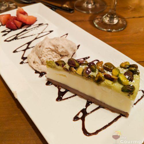 magic flute, pistachio, cheesecake, pistachio cheesecake, san francisco