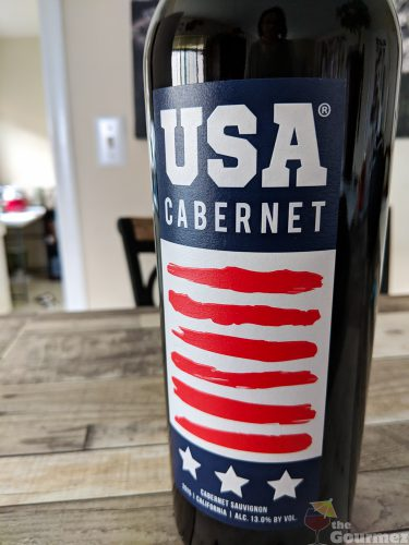 usa cabernet, scotto, wine, tasting notes, bottle