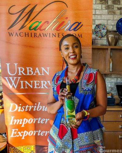 wachira wines, christine wachira, jack london square, wine walk, oakland, kenyan wine, california wine