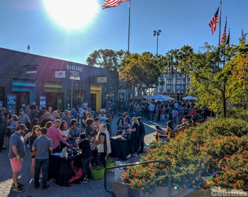 wine walk, jack london square, oakland