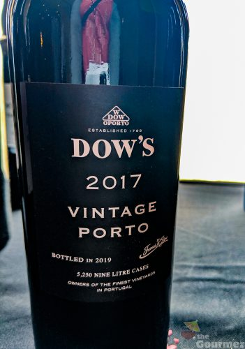 2017 Vintage Port, port, porto, tasting notes, wine tasting, dow's 2017 vintage port