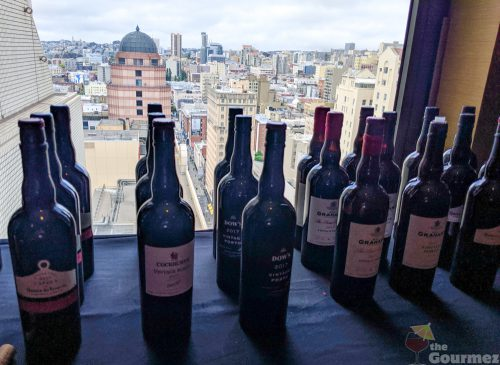 2017 Vintage Port, tasting notes, wine tasting, port, san francisco, hotel nikko