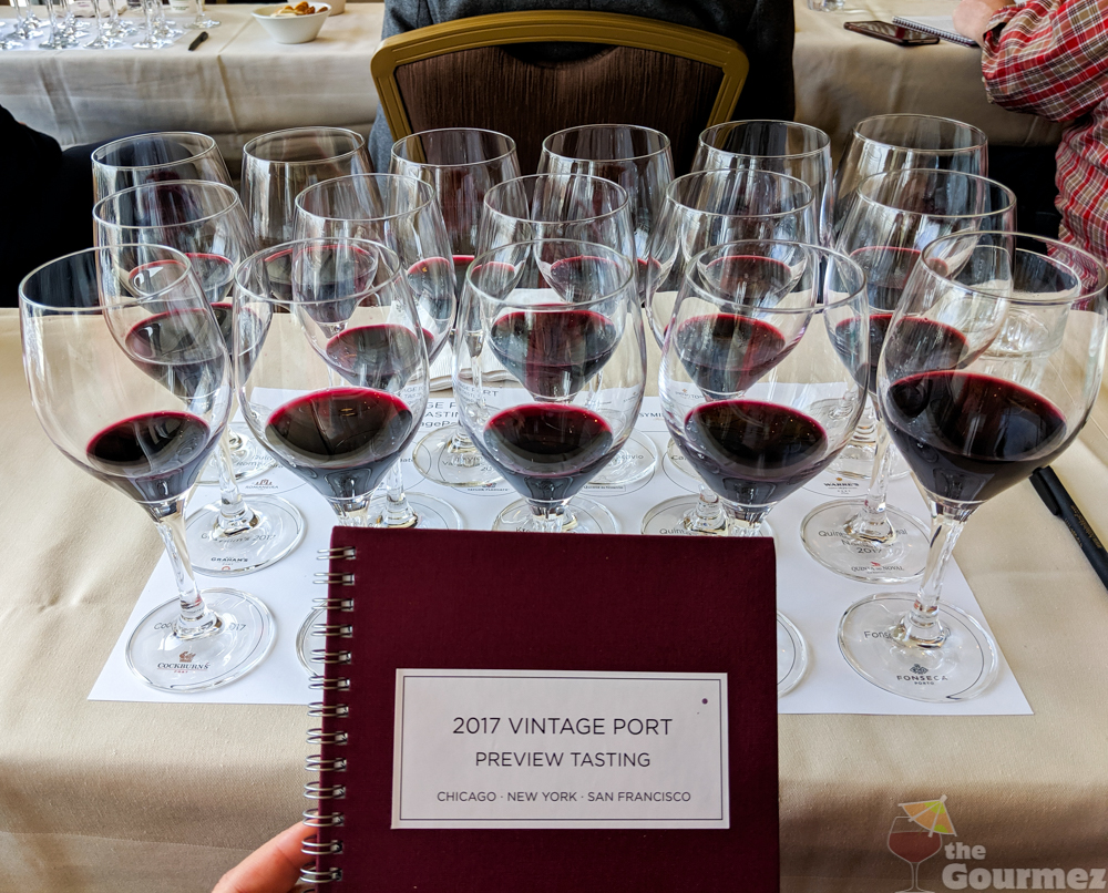 The 2017 Vintage Port Preview Tasting