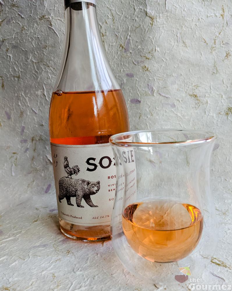 Sosie Wines Rosé of Syrah 2017