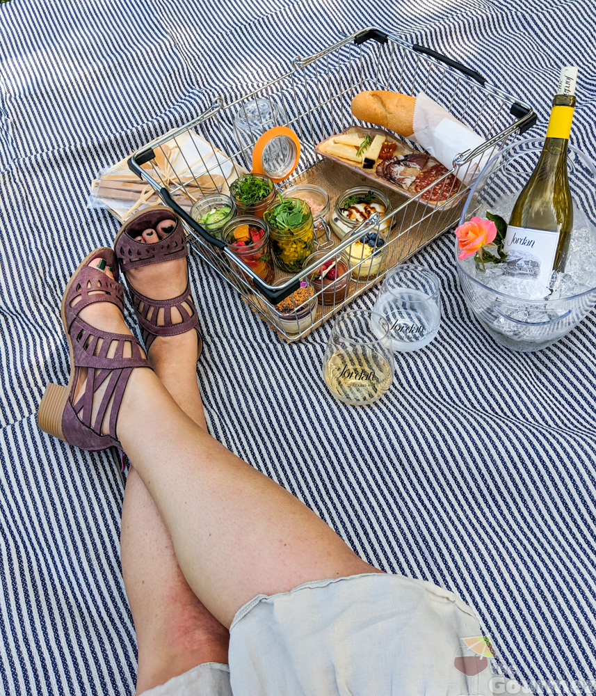 A Picnic Lunch and Overnight Stay at Jordan Winery
