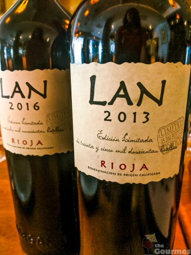 Bodegas LAN, winery, wine dinner, wine lunch, edicion limitada