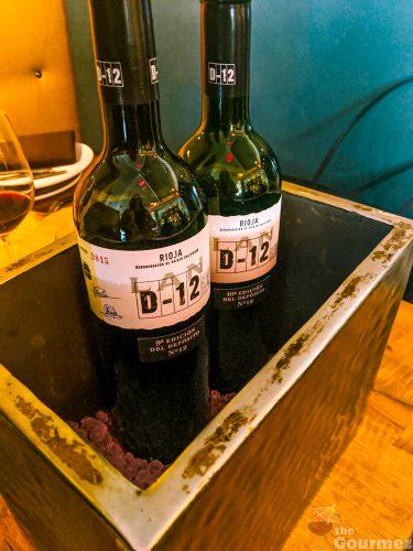 Bodegas LAN, winery, wine dinner, wine lunch, LAN d-12, rioja