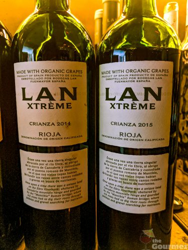Bodegas LAN, winery, wine dinner, wine lunch, , LAN xtreme, organic wine