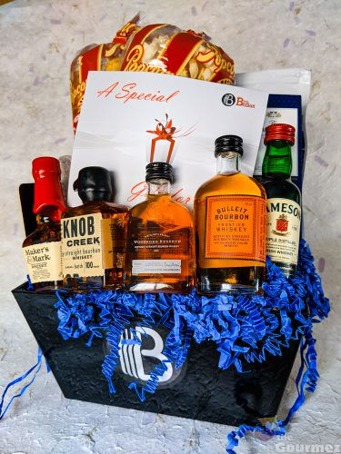 the brobasket, gift basket, gift box, holiday gifts for men, holiday gifts, whiskey gift basket, snack basket