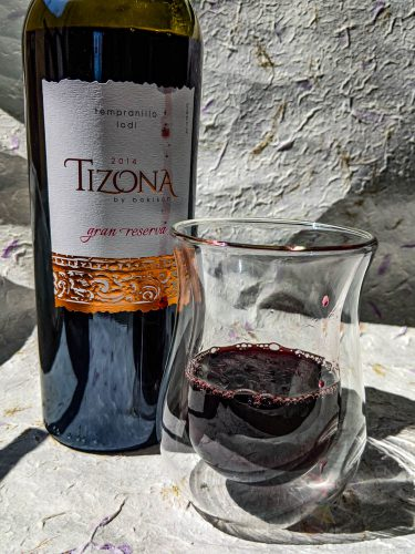 Tizona, tizona by bokisch, bokisch vineyards, gran reserva, tempranillo, tasting notes, lodi wine, spanish wine