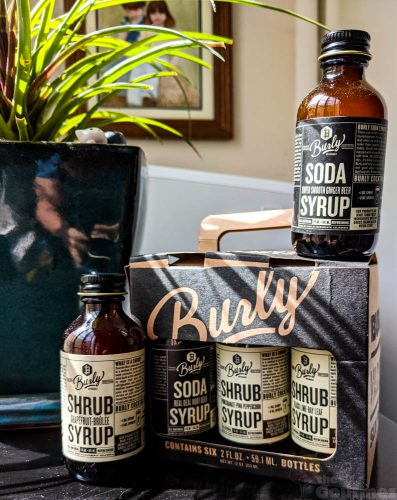 burly beverages, shrubs, shrub, soda syrup, burly shrub, review, tasting notes