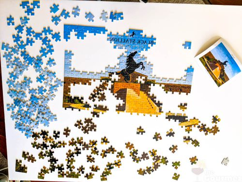 black stallion estate winery, puzzle