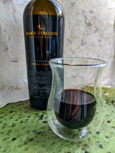 black stallion, wine, winery, estate winery, cab, cabernet, cabernet sauvigion, wine tasting tasting notes, review