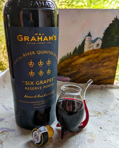 six grapes special river quintas edition, w j grahams, port, reserve porto, porto, douro, six grapes, special edition, river quintas, nonvintage, tasting notes, wine review, port review