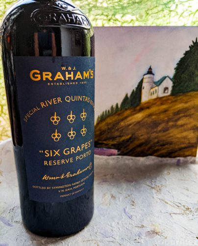 six grapes special river quintas edition, w j grahams, port, reserve porto, porto, douro, six grapes, special edition, river quintas, nonvintage