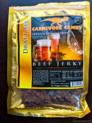 manly man, manly man co, beef jerky, jerky, meat bouquet, jerky bouquet, gift box, review, carnivore candy, draft ale