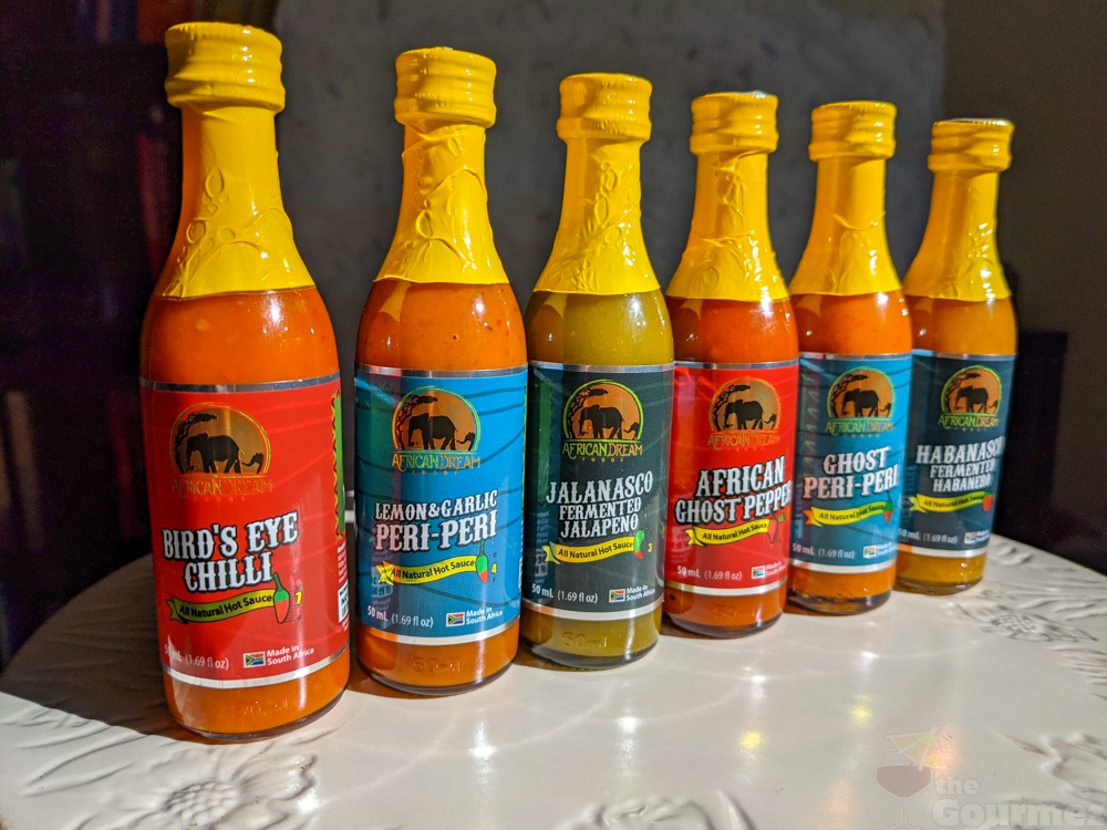 African Dream Foods Hot Sauces and Spicy Salts Review