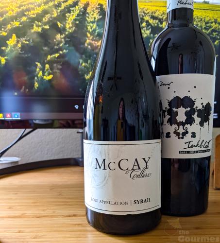 lodi wine, lodi winegrape commission, lodi rules, wine tasting, the gourmez, mccay cellars, syrah